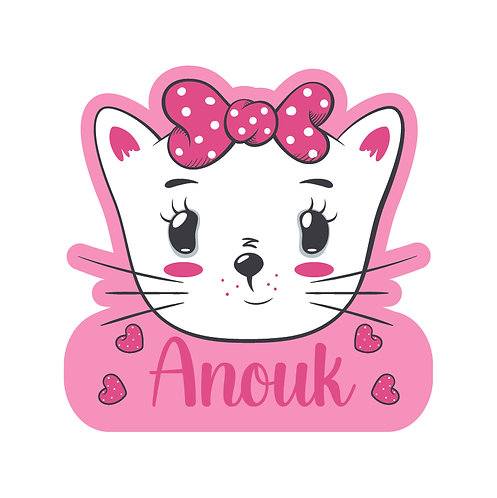 Anouk Naamsticker