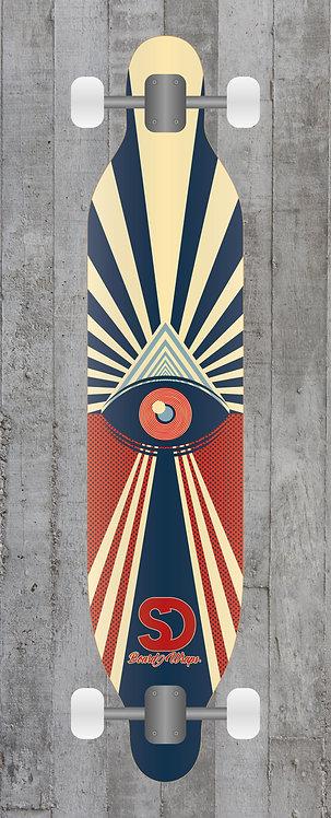 Eye Retro Longboard wrap