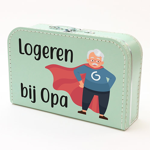 Koffertje met Logeren bij opa