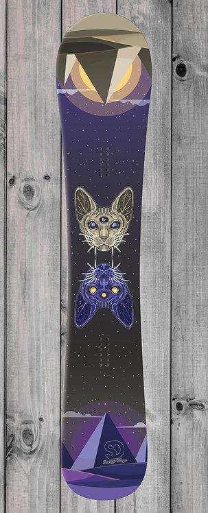 Cat Heads Snowboard wrap