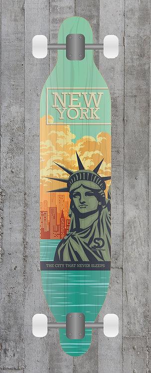 NewYork Longboard wrap