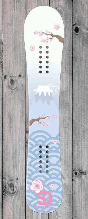 Mount Fuji Snowboard wrap