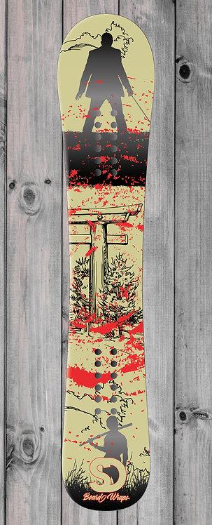 Yakuza Snowboard wrap
