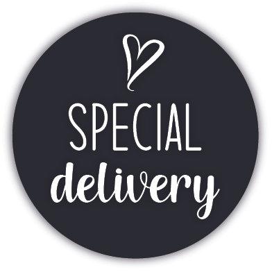 Special delivery sluitzegel