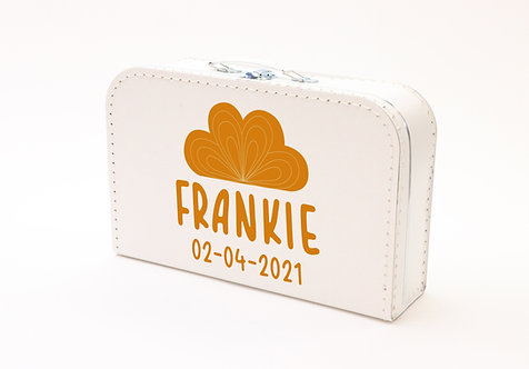 Koffertje met Pastel Wolk Frankie
