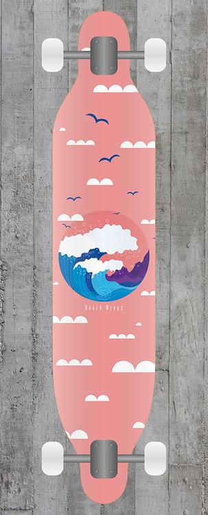 Calm Wave Longboard wrap