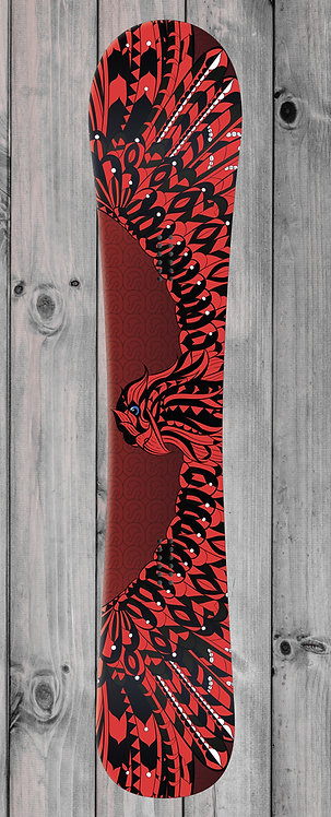 Red Eagle Snowboard wrap