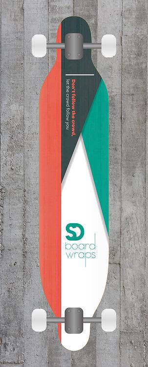 Crowd minimal Longboard wrap