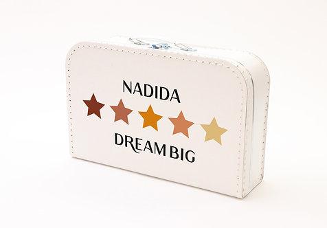 Koffertje met Pastel Sterren Nadida