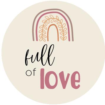 Full of Love Roze sluitzegel
