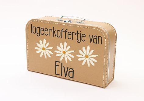 Koffertje met Bloemetjes Elva