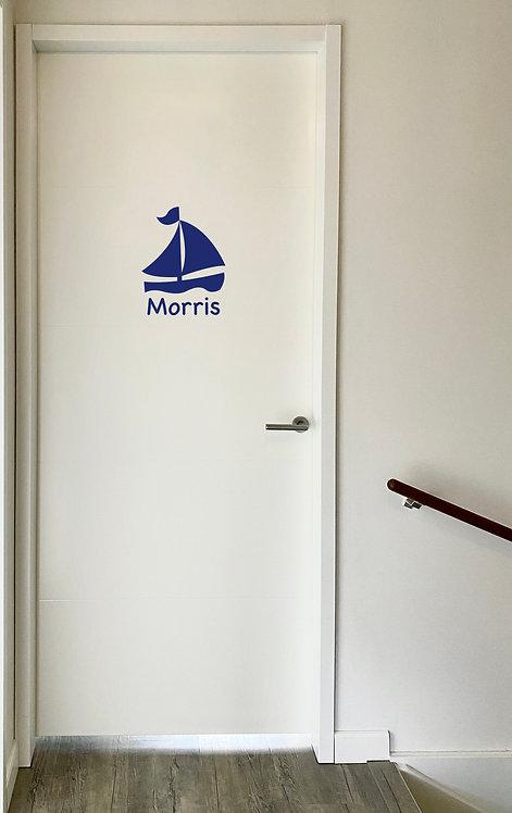 Deursticker Morris