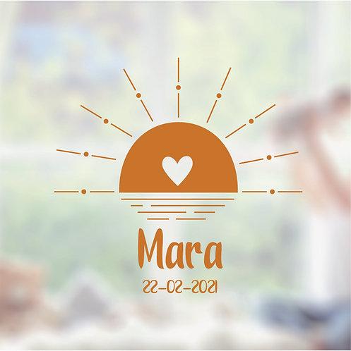 Raamsticker Mara
