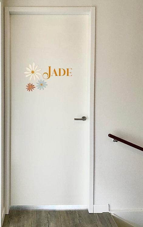 Deursticker Jade