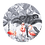 Thumbnail: Flamingo Muurcirkel