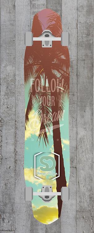 Palmtree Longboard wrap