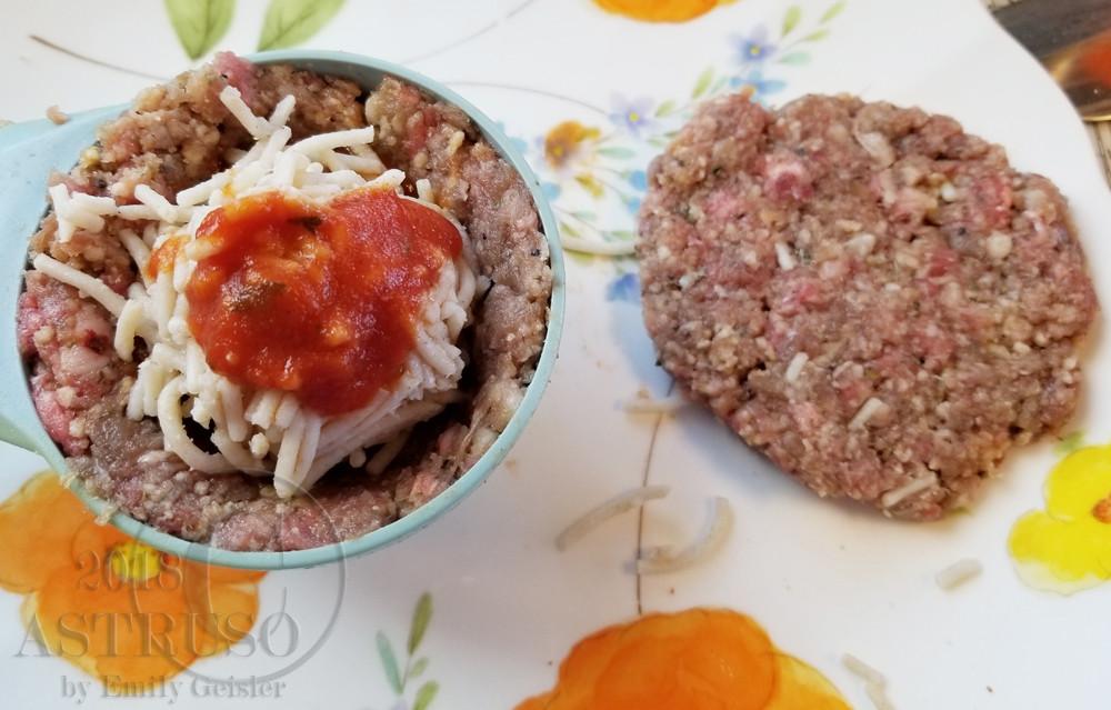 Spaghetti Stuffed Meatball Gluten Free and Lactose Free