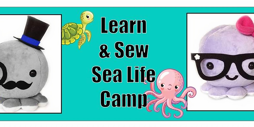 Learn and Sew Sea Life Camp