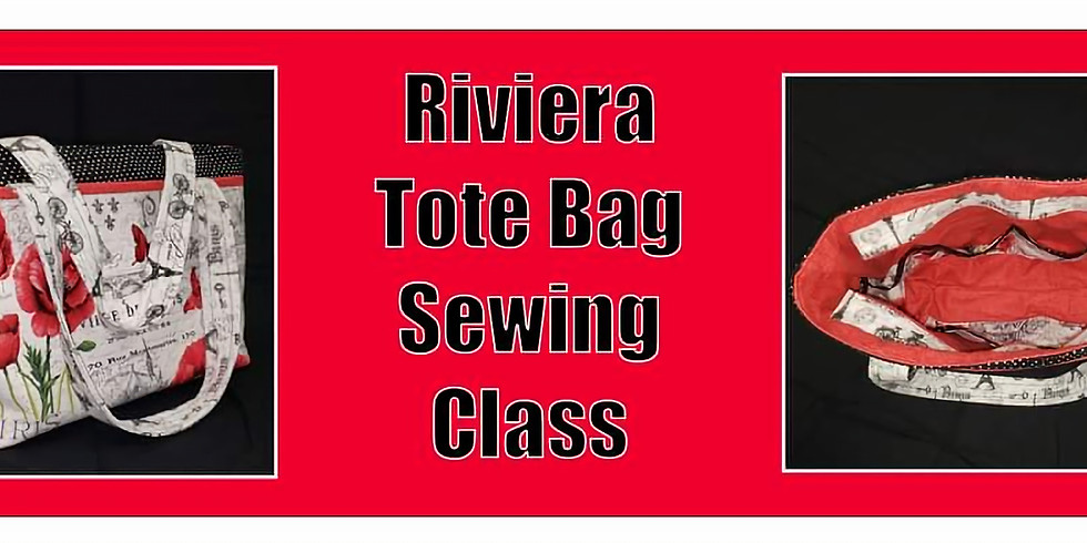 Riviera Tote Bag Sewing Class