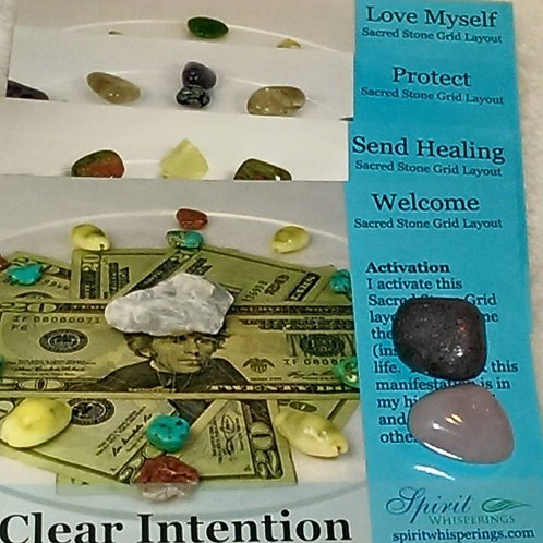 CLEAR INTENTIONS LAYOUT CARDS