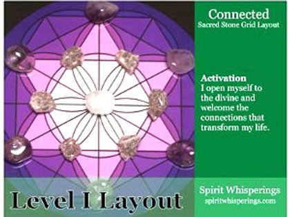 Connected Grid Layout Card Level 1