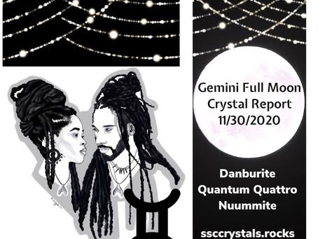 Gemini Full Moon Crystals