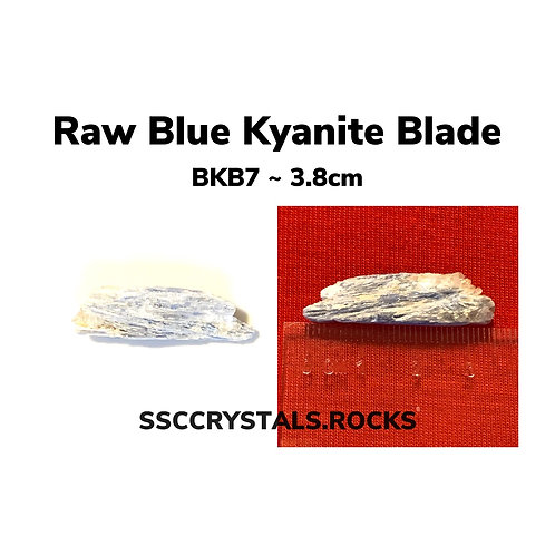 Raw Blue Kyanite Blades 3 - 7cm