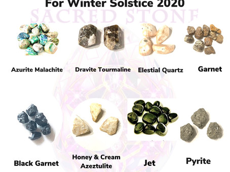 Winter Solstice 2020 High Vibration Crystals
