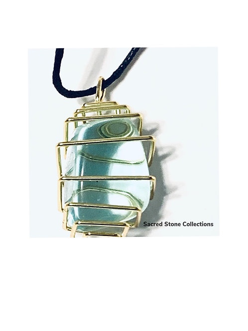 Square Gemstone Cage Medium/Large