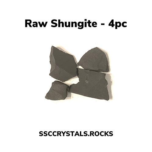 Raw Shungite 4pc