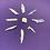 Thumbnail: 9 Raw Blue Kyanite Blades Sets