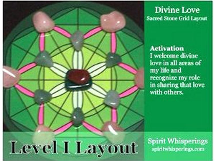 Divine Love Grid Layout Card Level 1