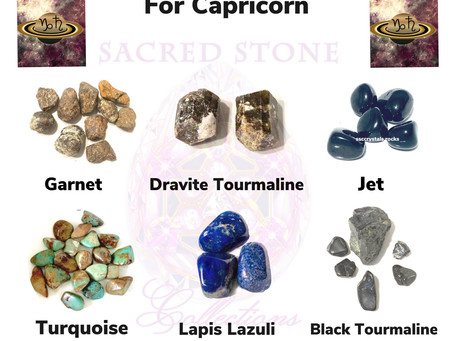 High Vibration Crystals for Capricorn Season
