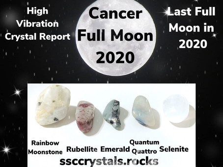 2020 Cancer Full Moon Crystals