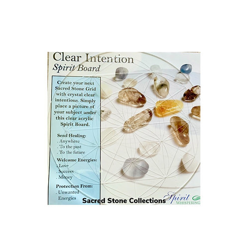 CLEAR INTENTIONS SPIRIT BOARD