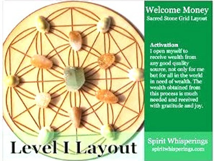 Welcome Money Grid Layout Card Level 1