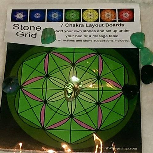 7 CHAKRA LAYOUT SPIRIT BOARDS