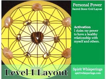 Personal Power Grid Layout Card Level 1