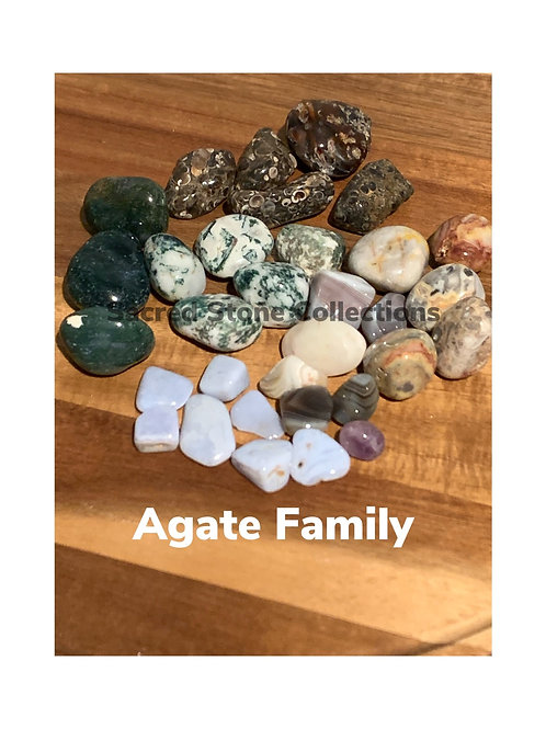 Large Agate Set