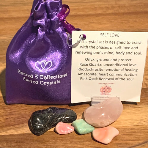 Self Love Crystal Set