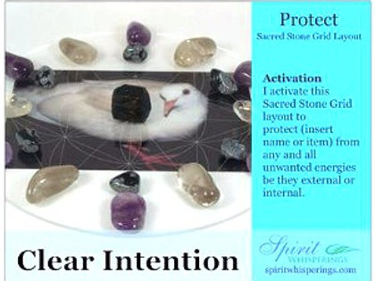 Protect Grid Layout Card Clear Intentions