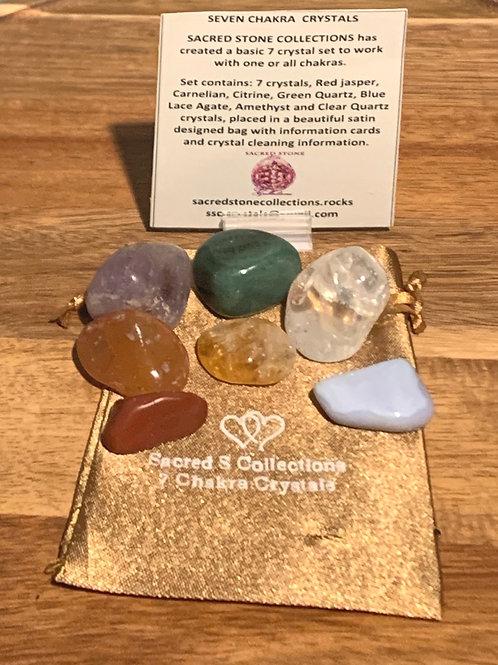 Seven Chakra Crystals