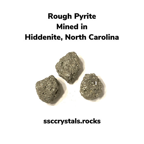 Rough Pyrite Mined in NC