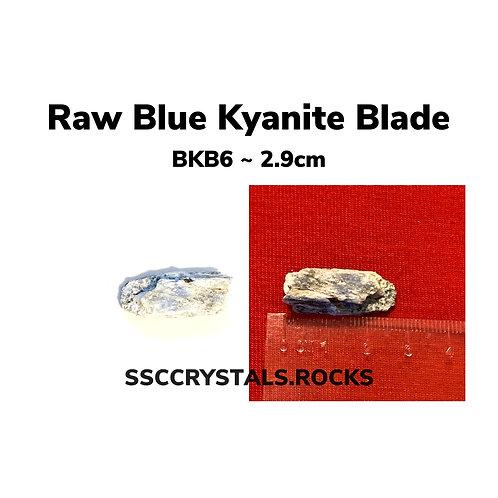 Raw Blue Kyanite Blades under 3cm