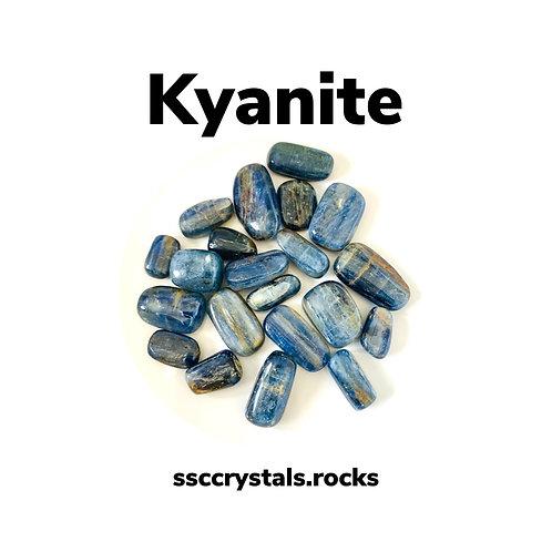 Blue Kyanite ~ Polished