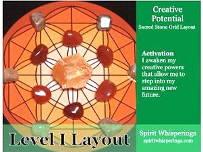 Creative Potential Grid Layout Card - Level 1