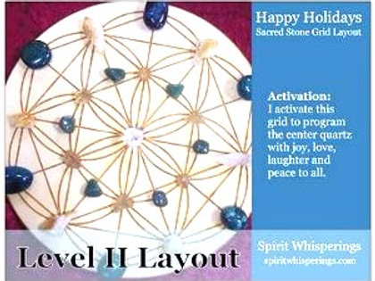 Happy Holidays - Grid Layout Card Level 2