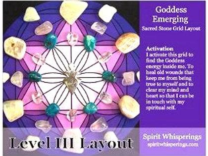 Goddess Emerging Grid Layout Card Level 3