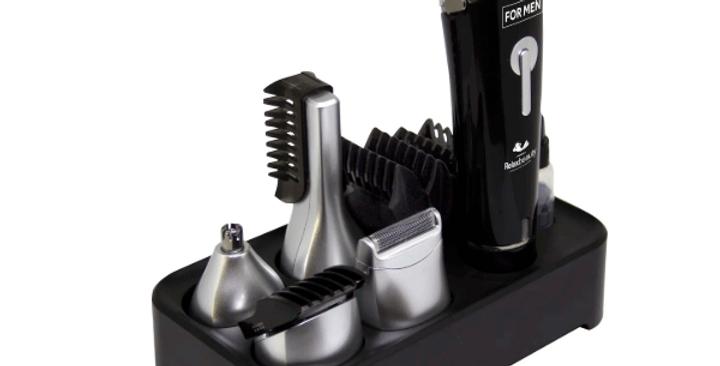 Máquina Cortar Cabelo Barba Pelos Nariz Corpo Recarregavel