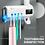 Thumbnail: Higienizador de escovas de dentes por raios UV com suporte para creme dental